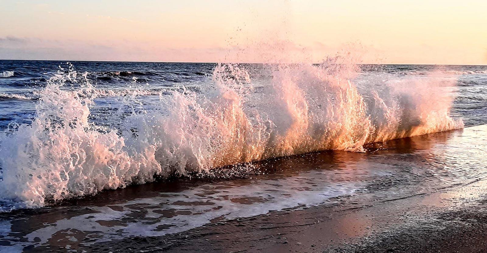 Ocean Spray in Texas Gulf